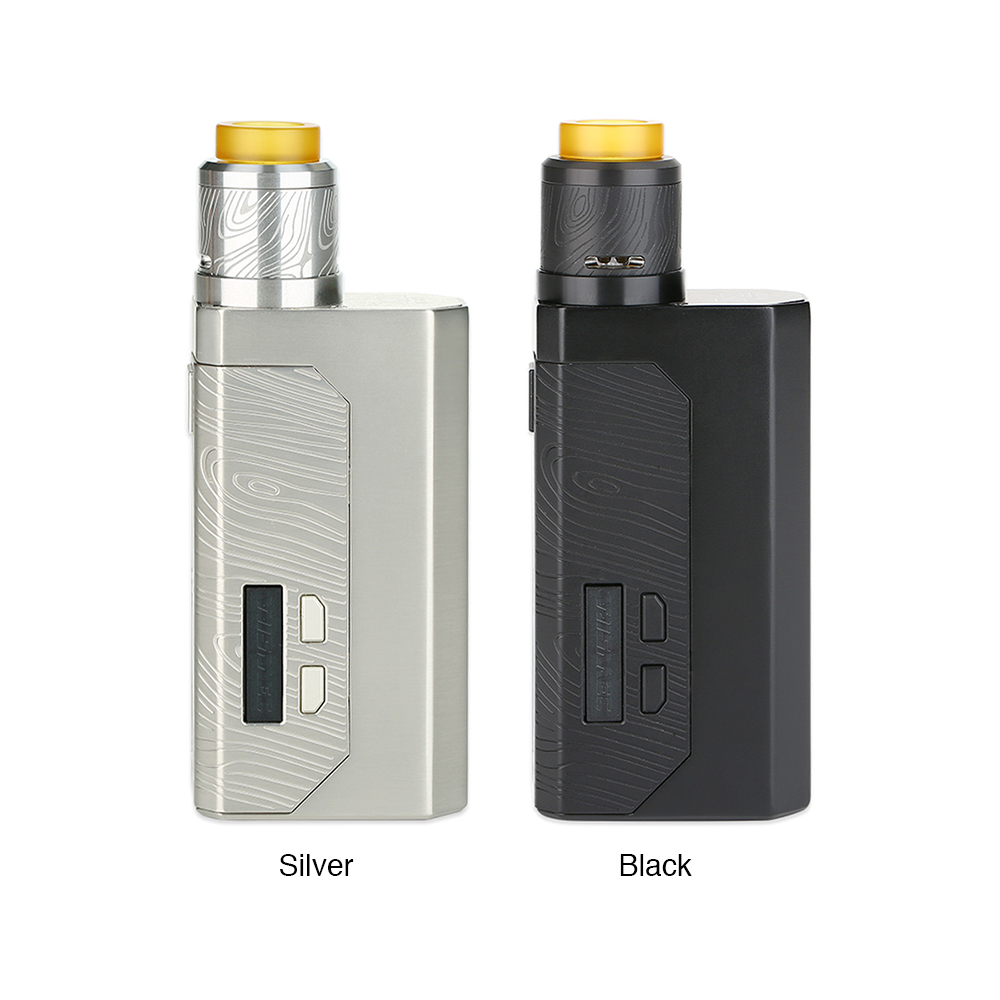 Wismec Luxotic MF Box Kit W/O Screen with 7ml Squonk Bottle & Guillotine Version 2 RDA Electronic Cigarette Vape VS Luxotic BF