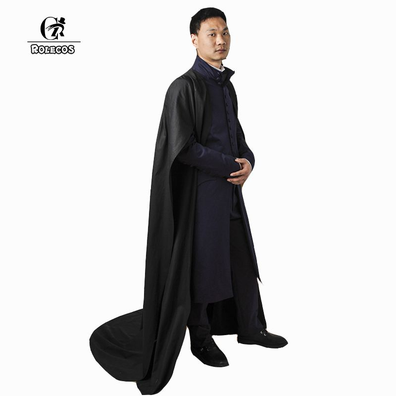 ROLECOS Brand Men and Women Costumes Snape Dumbledore Hermione Cosplay Costumes Unisex Magician Costumes JK Rowling