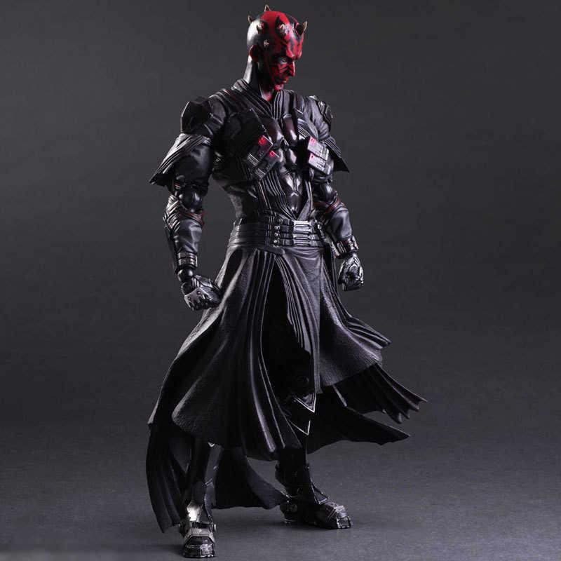 Chanycore Star Wars: Kekuatan Membangkitkan Darth Maul 28 cm Action Figure Koleksi Model Untuk Hadiah Anak 1077