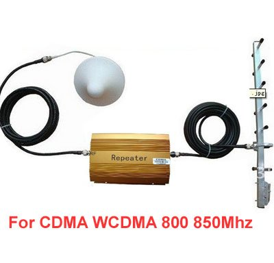 With 15m Cable+antenna,CDMA Booster Repeater,800mhz Repeater Mobile Phone Signal Amplfier 850Mhz 3G Booster For New Zealand