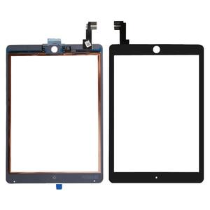 Getestet gut Ersatz Für iPad Air 2 2nd Gen Generation A1567 A1566 Weiß Touchscreen Digitizer Glas Objektiv