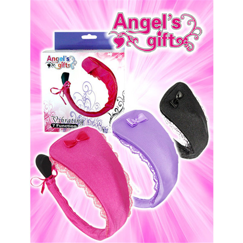 LYG Angel gift fun supplies U type Shaki invisible wear C word pants female masturbation device