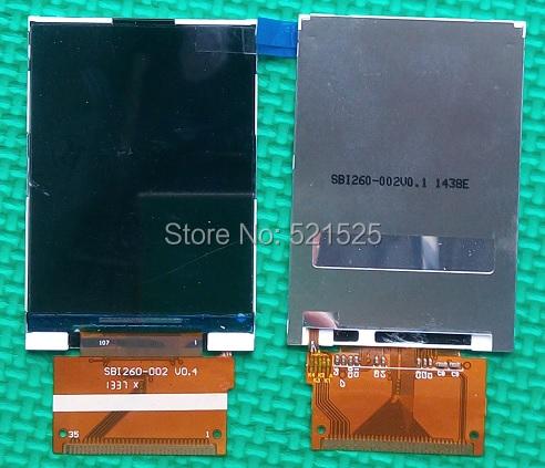 Frete grátis, display LCD Original Com CTX5500 SBI260-002 FPC para Philips X5500 Xenium Celular mobile phone