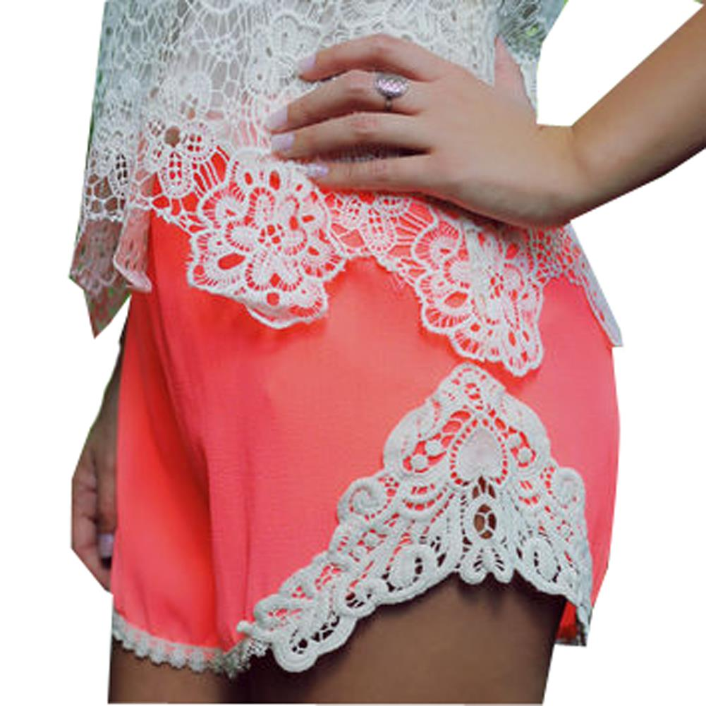 Pom Trim Trousers Shorts Summer Style Women