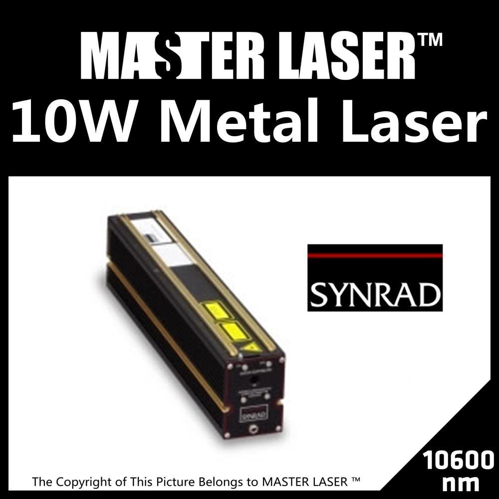Discount 10W Synrad  All-metal Laser Tube CO2 Laser Marking Machine DIY PART Laser Tube 10w co2 laser tube 50w 80cm co2 sealed laser tube laser machine part co2 laser tube