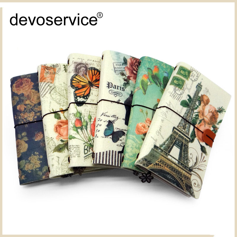 New Arrivalr Retro Felt Notebook Loose-Leaf Notebook Gift High-End Notebook Planner Portable Office Supplies School Stationery meikeng 1pc 75 sheets vintage loose leaf notebook memo pad notepad school supplies office supplies high end gift