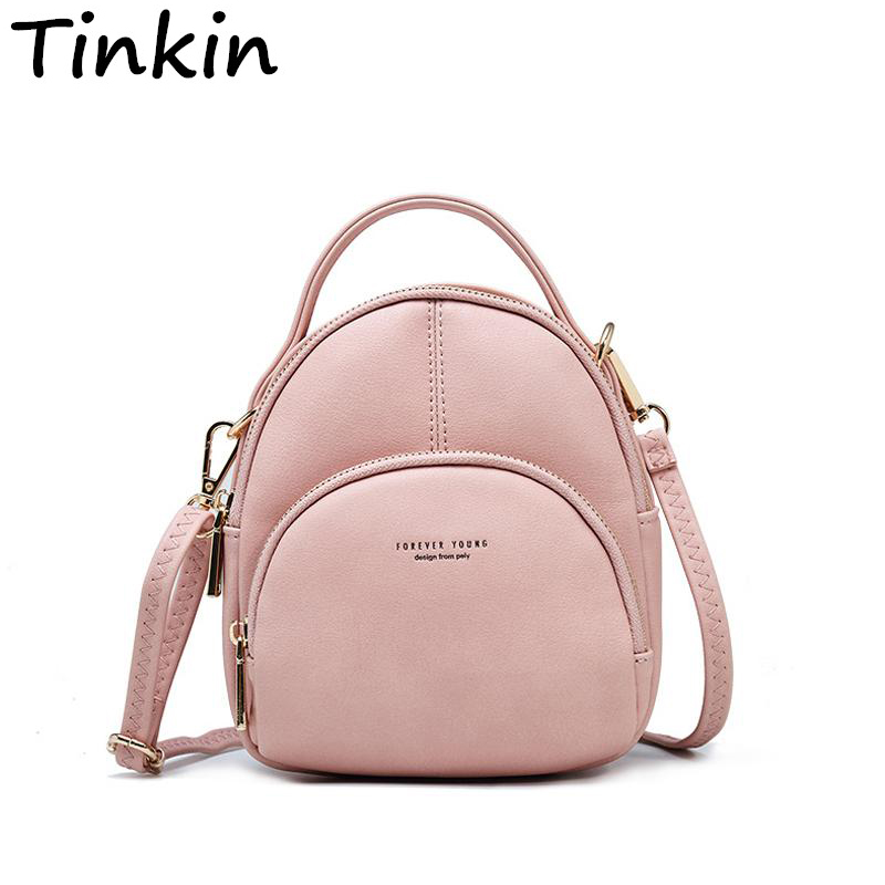Small Fashion Women Backpack Multifunction Two-use Shoulder Bag Soft Candy Female BagsSmall Fashion Women Backpack Multifunction Two-use Shoulder Bag Soft Candy Female Bags