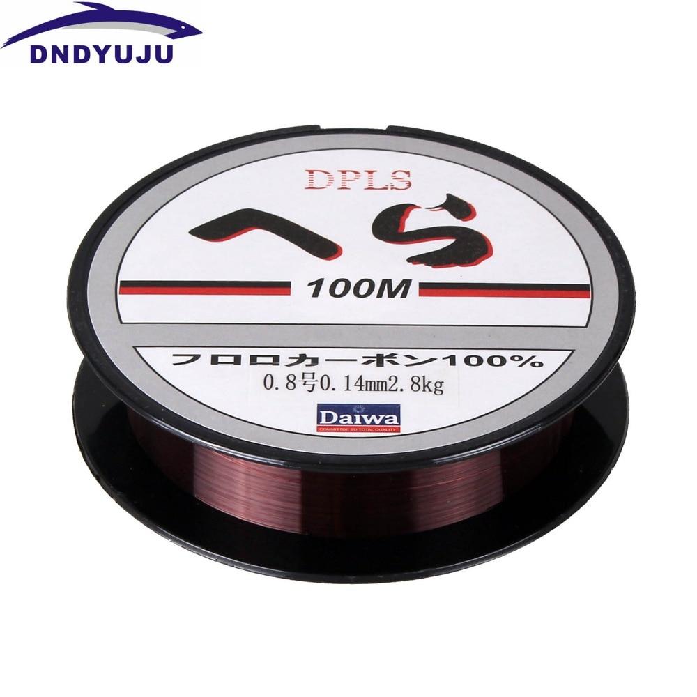 100m monofilamento forte qualidade náilon pesca linee
