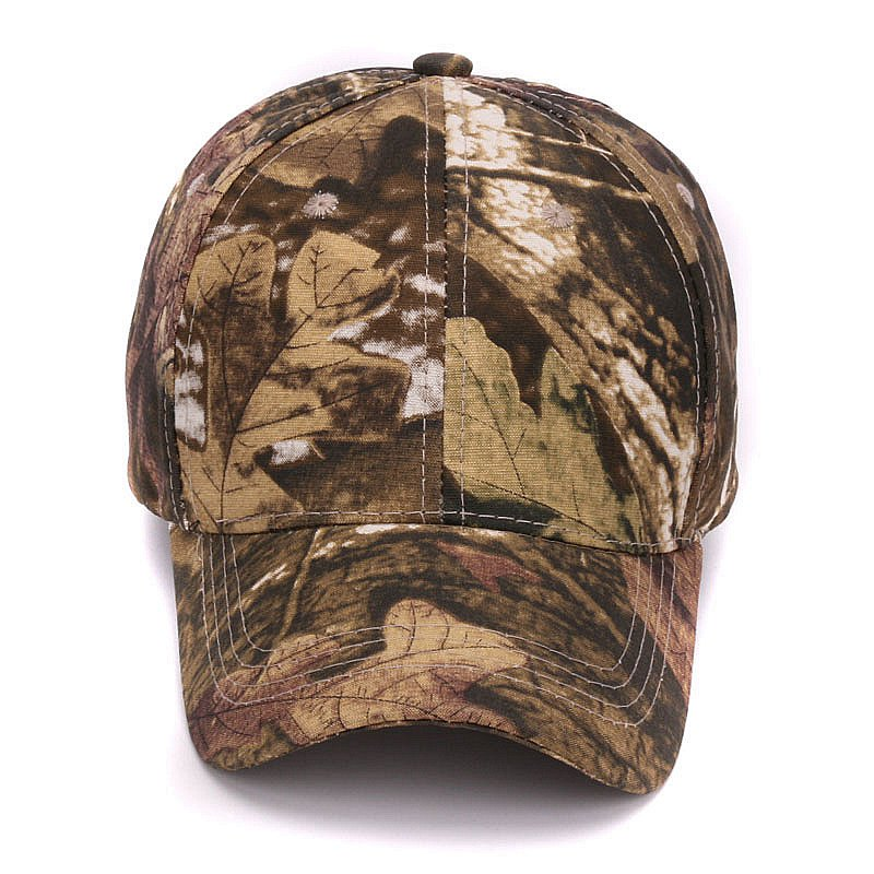 91305f69b3f Plain dyed camo 100% cotton cap blank baseball hat with no embroidery sport  mens