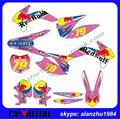 FREE SHIPPING PINK 3M TEAM GRAPHICS 79  BACKGROUND DECALS STICKERS KITS SET FOR KTM 2013-2014 2015 SX SXF