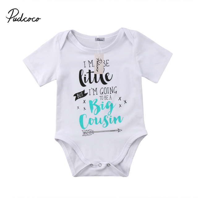 826026ed4 Pudcoco Infant Newborn Baby Boy Girl Print Cotton Romper Outfits ...
