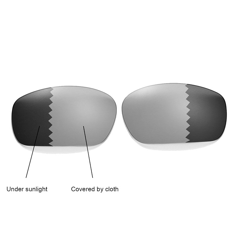 b01cf2fa15368 Walleva Polarized Transition Photochromic Replacement Lenses for Oakley  Jawbone Racing Jacket Sunglasses -in Accessories from Apparel Accessories  on ...