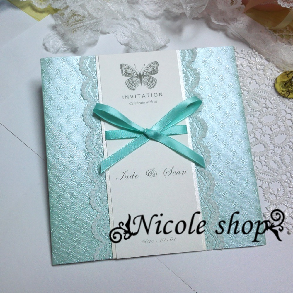 Tiffany Blue Wedding Invitations Images On