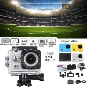Action Camera Ultra Hd 4k 30m