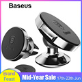 Магнитный автомобильный держатель Baseus для телефона, универсальный держатель для мобильного телефона, подставка для автомобиля, крепление ...