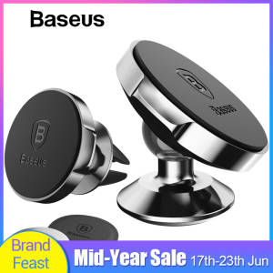 Baseus Magnetic Car Holder For Phone Universal Holder Mobile Cell Phone Holder Stand