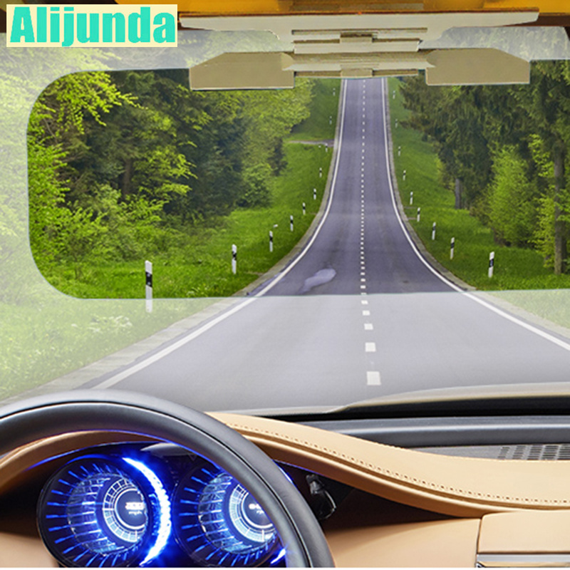 2 in 1 car sun visor for glare mirror for Ford Focus Fusion Escort Kuga Ecosport Chevrolet Cruze TRAX Aveo Lova Sail Opel Astra|Driver Goggles| |  - title=