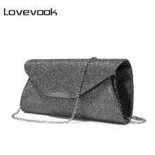 LOVEVOOK fashion women evening clutches bag female crossbody