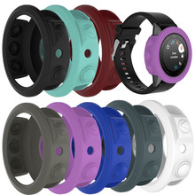 Replacement Sports Watch accessories 8-color Silicon Rubber Sleeve Cover Protective Case for Garmin Fenix 5S GPS Watch
