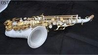 Фирменная Новинка страуса детей/Саксофоны трубы бемоль небольшой локоть сопрано sax белый керамический