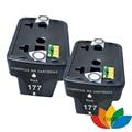 2 Pack Black Compatible HP 177 HP177 hp 177XL Printer ink Cartridge for HP Photosmart C4583 C5283 C4283 C4483 D5363