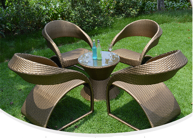 5pcs Rattan Sofa Set Patio Sectional Furniture PE Wicker Rattan Chair and Table  Set Outdoor Furniture. 5pcs Rattan Sofa Set Patio Sectional Furniture PE Wicker Rattan