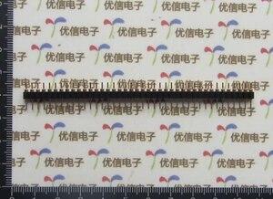 Image 4 - 50 pcs 1x40 Pin 2.54mm Pitch DIP Single Row Round Pin Round Pinr Connector 40P