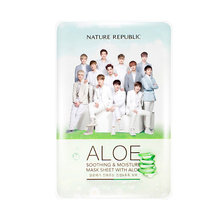Made in Korean Not Have Alcohol Nature Republic Sheet Mask EXO Face Moisturizing Oil Control Whitening Facial