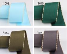 Kewgarden Double Edge Grosgrain Ribbons 1-1/2 40mm 1 25mm 3/8 10mm Handmade Tape DIY Bowknot Brooch Satin Ribbon 10 Yards