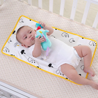 baby changing mat waterproof cotton diaper large changing mat pad nappy travel portable large changing mat baby Newborns infants
