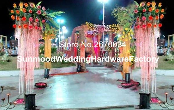 Hot Sale Elegant Wedding Mandap Pillars For Wedding Decoration , Indian  Wedding Mandap China Manufacturer(
