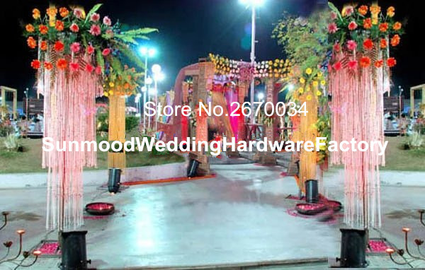 Hot Sale Elegant Wedding Mandap Pillars For Wedding Decoration