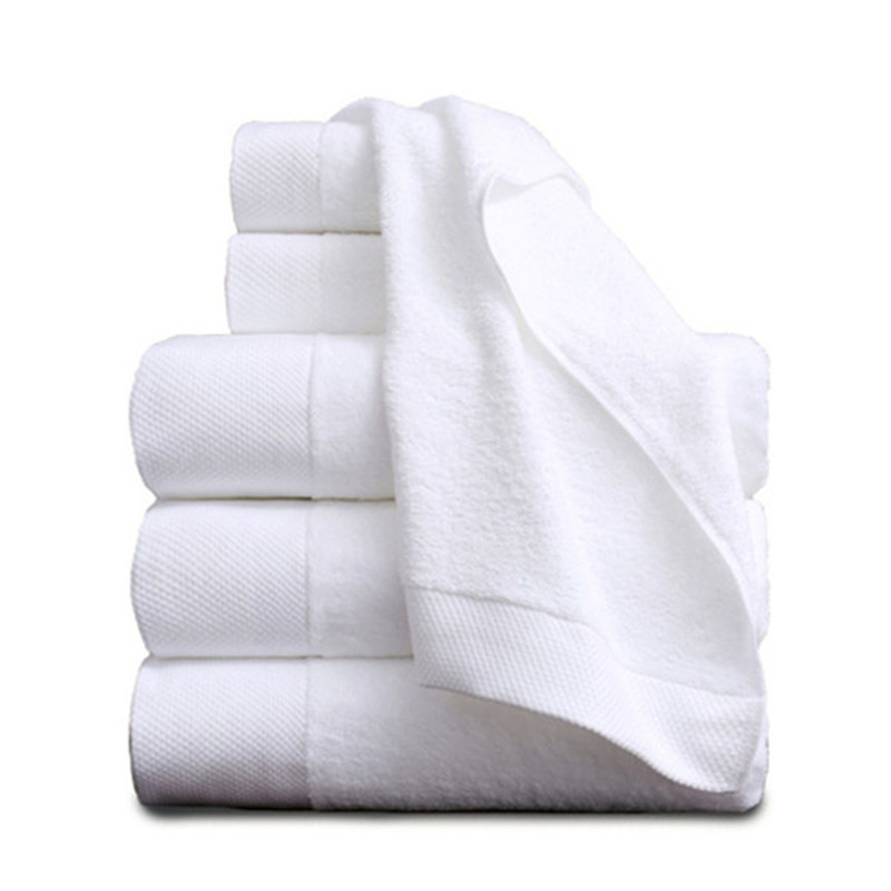 Pratico 70*140 Cm Bianco Asciugamani Da Bagno Per Adulti 2018 New White Hotel Asciugamani 100% Cotone Asciugamano Viso Assorbente Terry Capelli Telo Mare Fissare I Prezzi In Base Alla Qualità Dei Prodotti