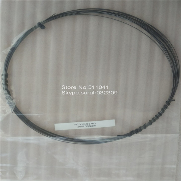 TiNi Nickel//Titanium 0.8mm Nitinol Super Elastic Wire 1 Metre 1000mm