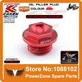 Cnc Billet de llenado de aceite para CR125R 250R CRF150R CRF250R CRF450R CRF450X CRM250R / AR CRF250L / M Dirt Bike Motocross Off Road