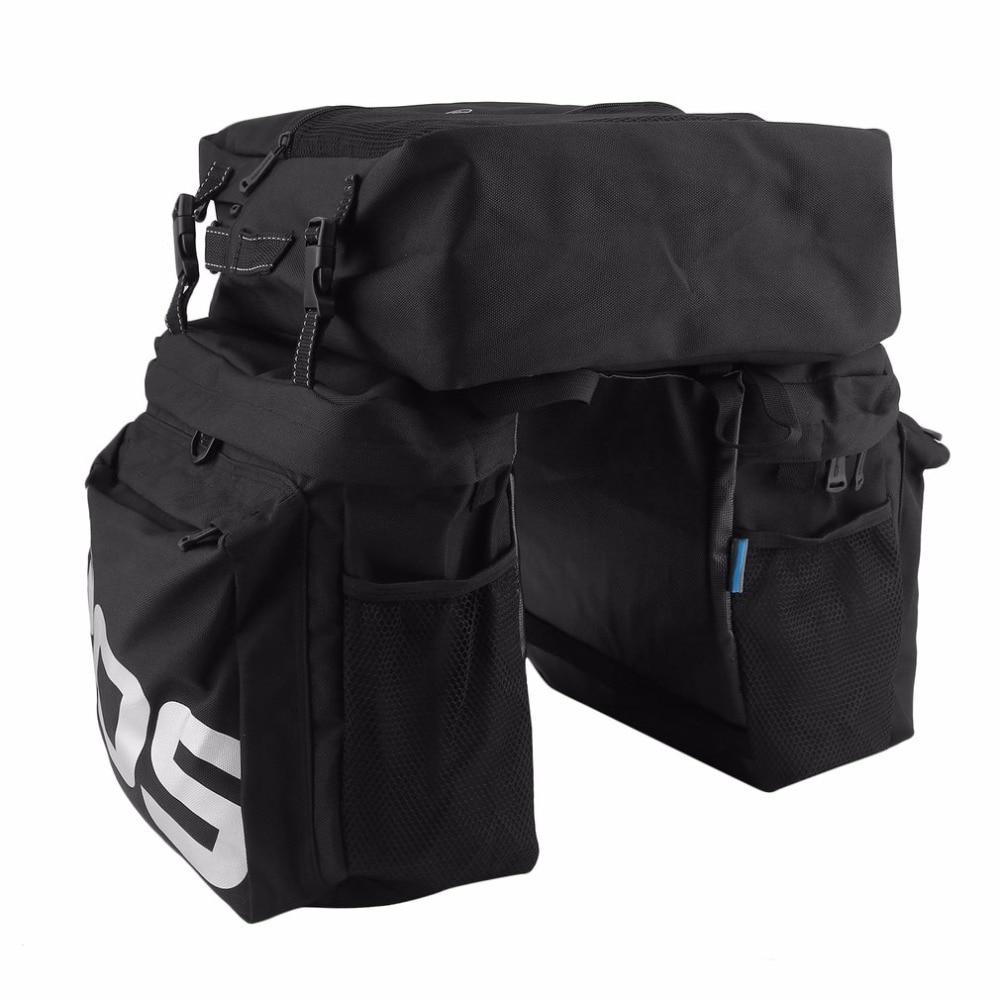 ROSWHEEL MTB Mountain Bike Carrier Rack Bag 3 In 1 Multifunctional Road Bicycle Luggage Pannier Rear Seat Trunk Bag Brand new цены онлайн