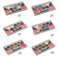 Professional Woman Makeup RIHAO 6 Color Eyeshadow Palette With 2 Color Eye Powder And 2 Color Blush Combination In One Set