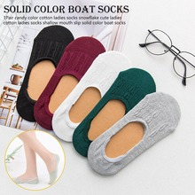 1Pair Candy Colors Cotton Women Socks Snowflake Soft table Woman