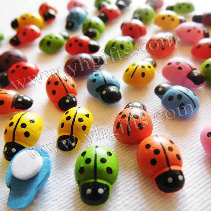 5000PCS/LOT,Colorful ladybug stickers,13x9mm,Kids toys,scrapbooking kit,Early educational DIY.Kindergarten crafts.Classic toy