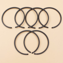 6Pcs/lot 38mm Piston Rings For Husqvarna 136 137 141 142 36 41 Chainsaw Parts (1.5mm Thickness) recoil pull start starter assemby assy kit for husqvarna 36 41 136 137 141 142 chainsaw genuine parts 530071968