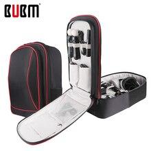 BUBM กระเป๋าสำหรับ PS4 PSVR คอนโซลเกม PlayStation กระเป๋าเดินทางกระเป๋าเป้สะพายหลังสำหรับ VR Storage Organizer กรณีเกม Gamepad กระเป๋า