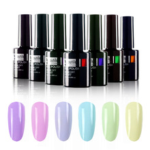 1ks New Organic Easy Soak Off UV LED Spring Flower Nail Art Gel Nail Polish 10ml