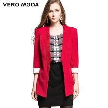 VERO MODA горячое элегантное блейзер пальто короткая куртка пиджаки свободного покроя куртка топы 314308046