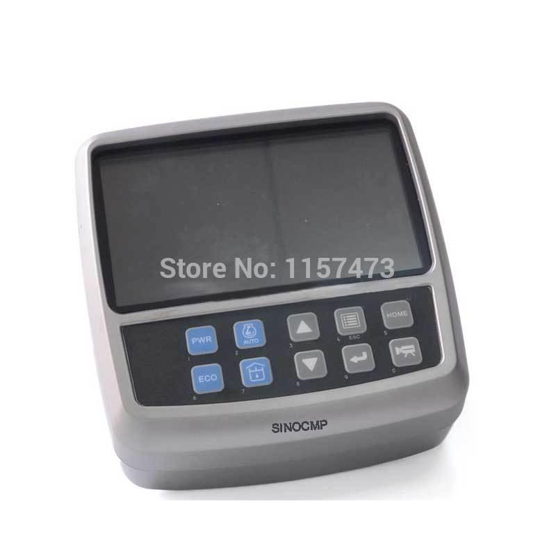 DX225 DX380 LCD Gauge Monitor Panel 300426-00049A For Doosan Excavator, 1 Year Warranty