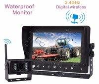 7 цифровой Экран TFT ЖК дисплей Водонепроницаемый Мониторы Встроенный 2.4 ГГц цифровой Беспроводной приемник (включает 1 шт. Водонепроницаемы