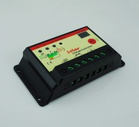 Solar Controller 12v24v10a Street Lamp System Controller Photovoltaic Power Generation System Charger Double Digit