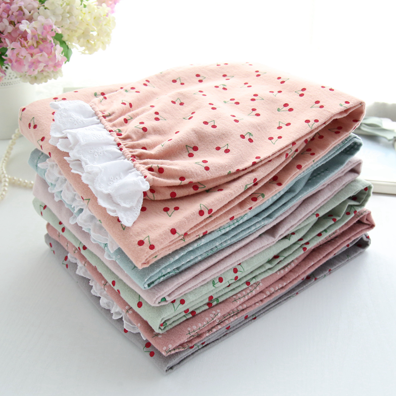 Japanese Cute Fashion Pajama Pants Women Summer Kawaii Plus Size Lace Loose Sleep Trousers Cotton Thin Lounge Home Pants  1