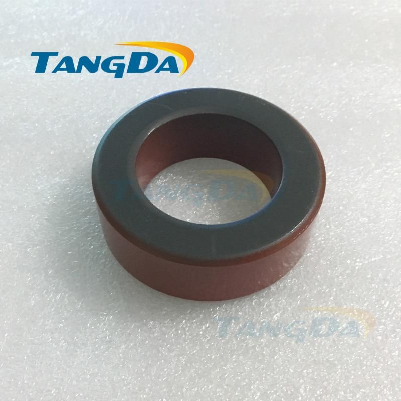 Tangda Iron powder cores T300-2D OD*ID*HT 77*49*25 mm 22.8nH/N2 10uo Iron dust core Ferrite Toroid Core Coating Red gray A. грипсы kellys kls advancer 2d 133мм кратон гель с заглушками grips kls advancer 2d lime 133 mm