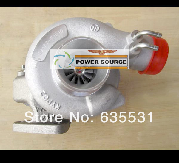 где купить Oil Cooled Turbo TD04 49177-01510 49177-01511 MD168053 MD168054 MD106720 For Mitsubishi Delica L200 L300 1988-96 4D56 4D56T 2.5L дешево
