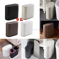 UK New Kitchen Creative Wastebasket Rubbish Bin Home Dustbin Trash Case Office